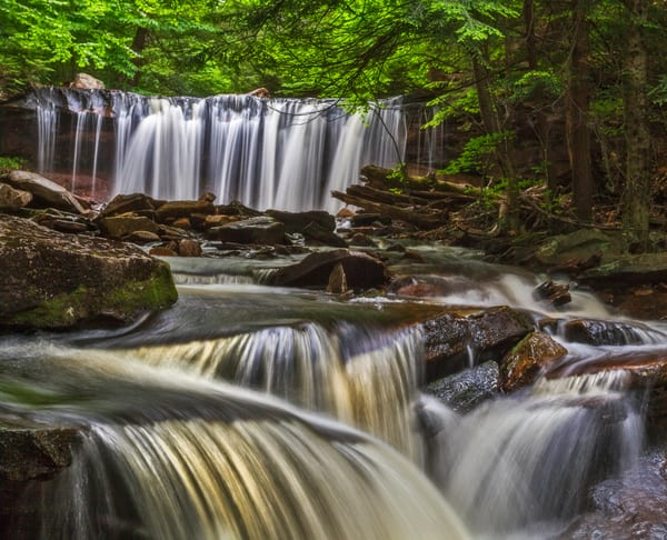 Unforeseen beauty in Ricketts Glen