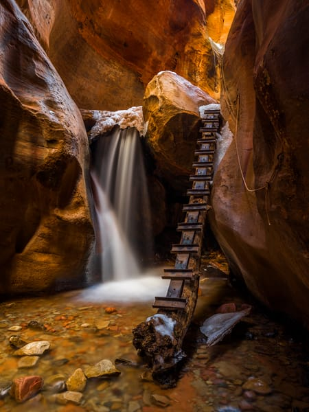 Kanarra Creek Falls (Vertical)