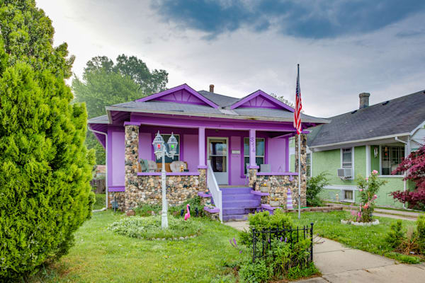 Little Purple Houses