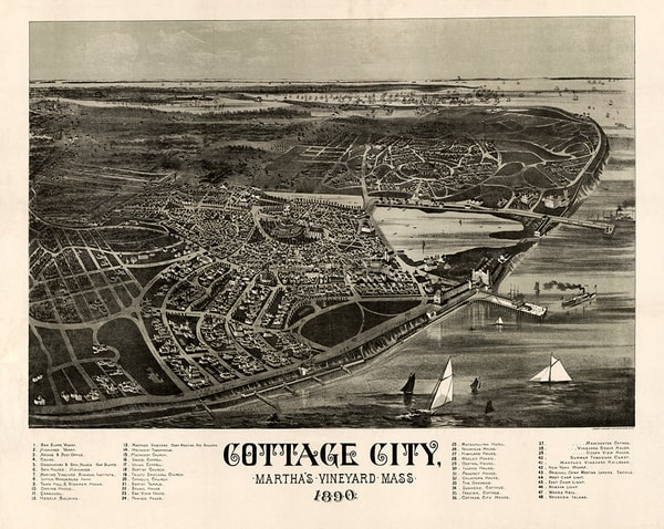 Cottage City, MA 1890