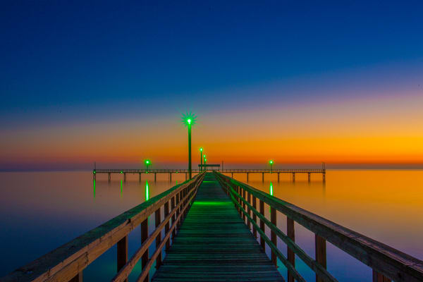 Placid Pier Photography Art | John Martell Photography