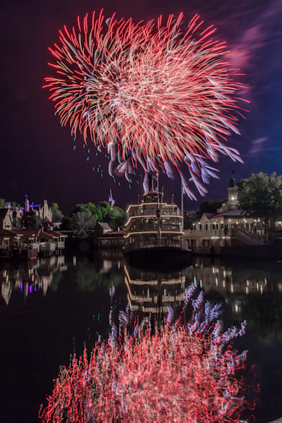 Wishes and the Liberty Belle - Disney Art | William Drew
