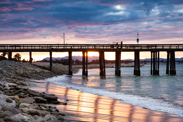 """Daybreak at the Pier"""