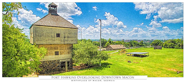 Panorama Cards of Macon, GA