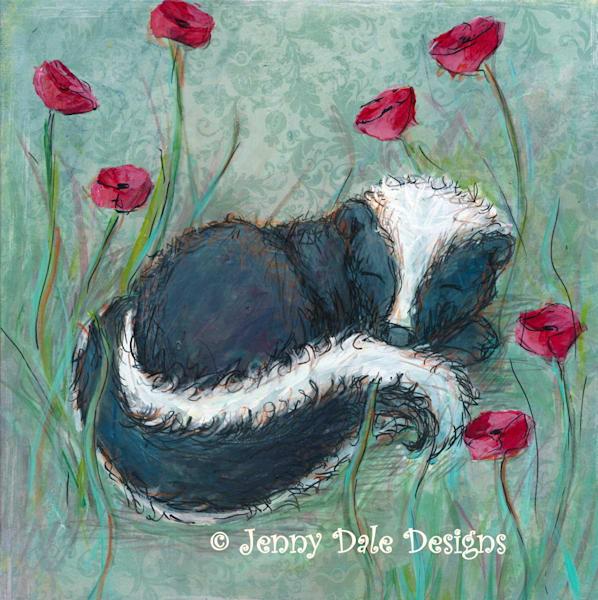 Sleepy Skunk - Original