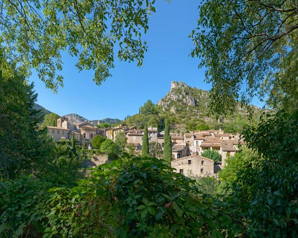 Overlooking The Village - Saint Guilhem le Desert - France