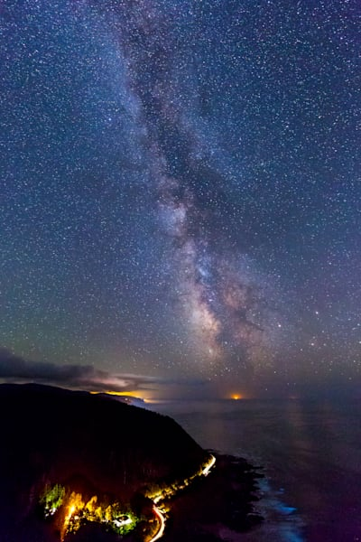 Cape Perpetua and Milky Way