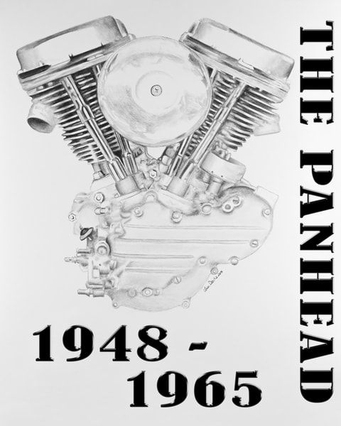 Panhead Harley Engine
