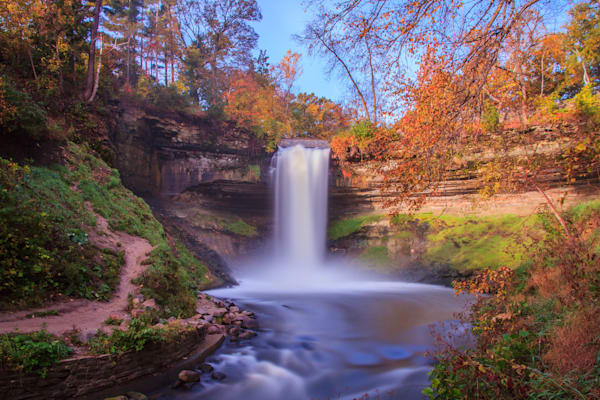 Minnehaha Autumn - Fall Colors | William Drew Photography
