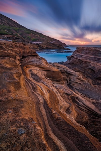 Lanai Lookout Layers Sunrise