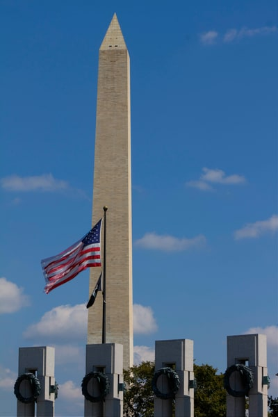 Washington Monument Standing Tall photograph for sale as art by Mike Jensen