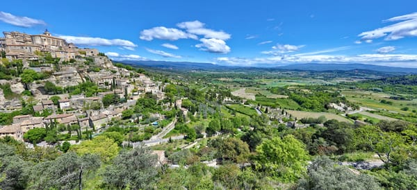 Gordes The Village On The Rock Photography Art | John Martell Photography