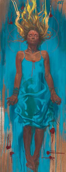 Ophelia by Steven Teller For Sale