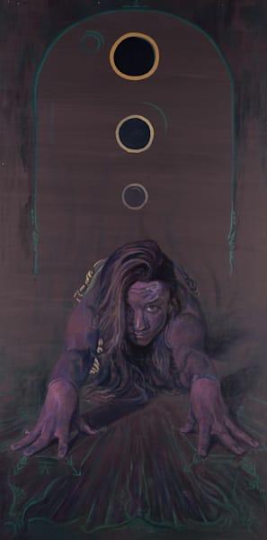 Utthitti Balasana by Steven Teller for sale