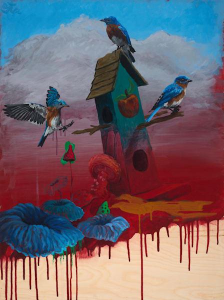 Three Little Bird in a House by Steven Teller