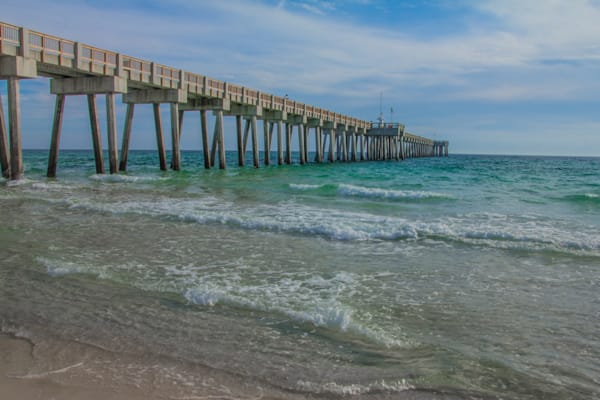 Beach Pier - Beach Art | William Drew Photography