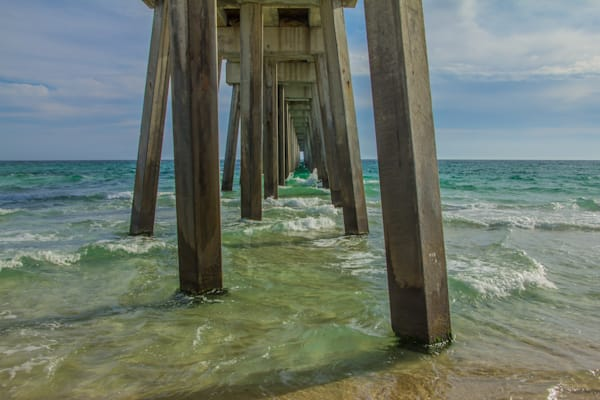Under the Pier - Beach Art | William Drew Photography