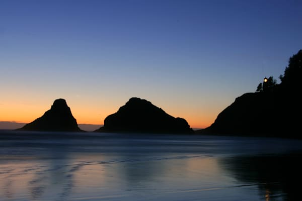 Oregon Coast at Sunset - Scenic Art | William Drew