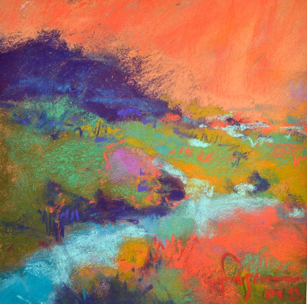 Waking Dream I ~ Original Pastel Painting Dorothy Fagan Collection