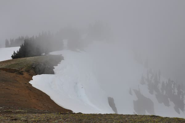 Olympic National Park, Mt. Olympus with Snow
