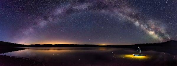 SUP on Forebay Reservoir