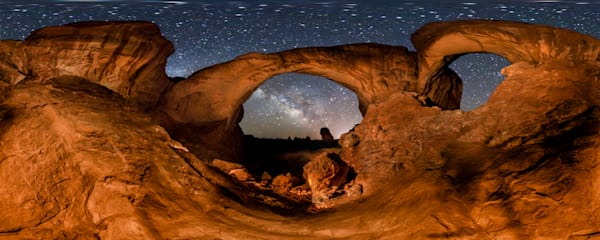 Double Arch & Milky Way Photography Art | Vincent Brady Photography