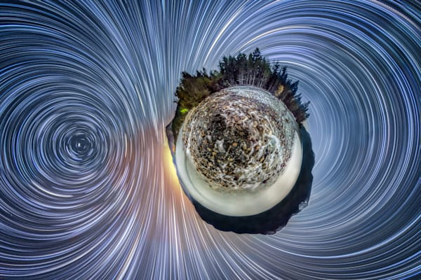 Kootenay Lake Planet Photography Art | Vincent Brady Photography