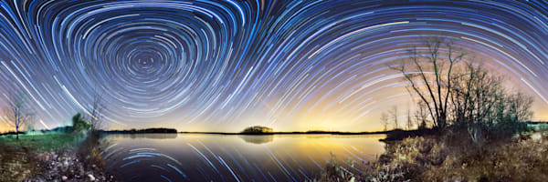 Sleepy Hollow Startrail Panorama