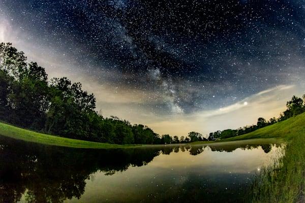 Milky Way Over Fox Park - Potterville MI