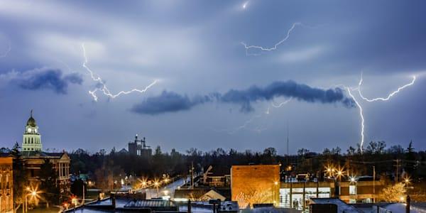 Lightning Over Charlotte, MI