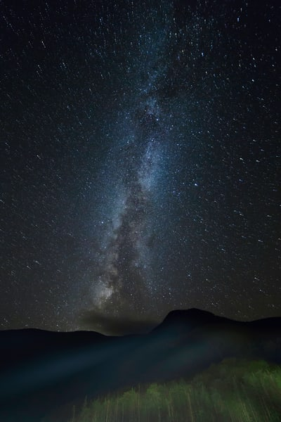 Milky Way Motion in New Hampshire