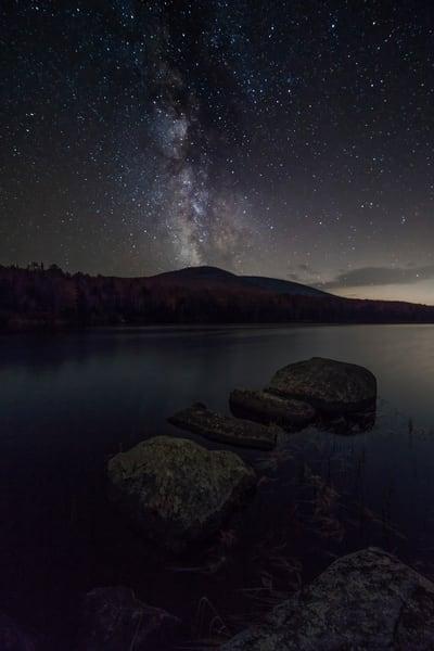 Vermont Milky Way, Noyes Pond