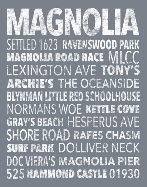Hometown Graphics-Magnolia-Grey