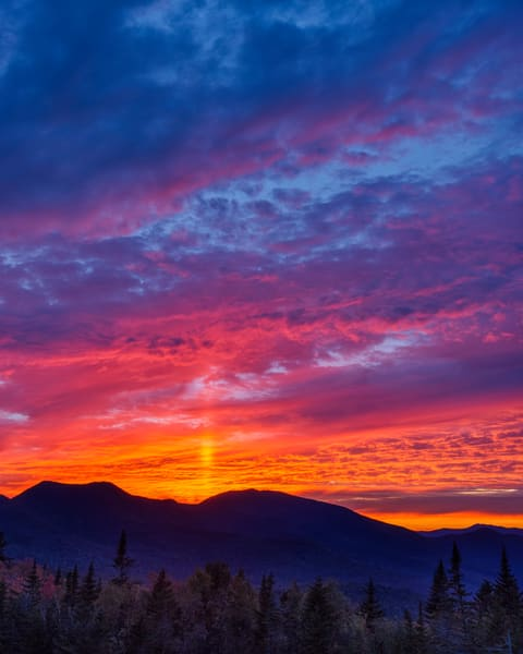 White Mountain Sun Pillar