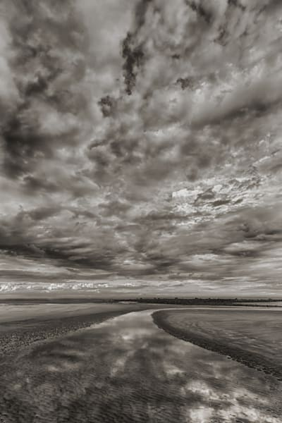 Sandy Point Black and White