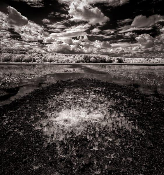 Infrared Pleasant Pond in Summer