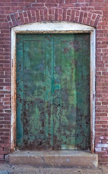 The Rusty Green Doors
