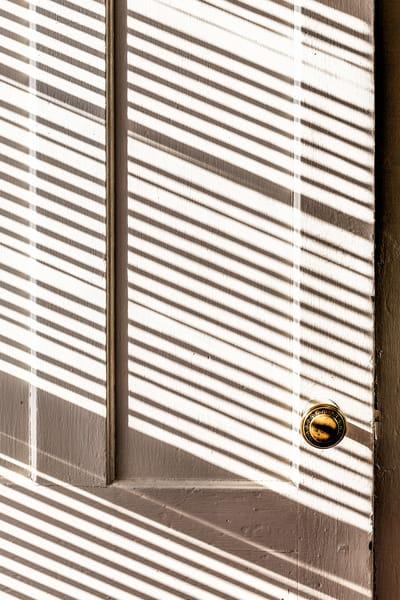 Shadowy Door in New England