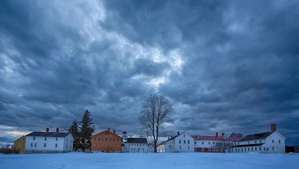Stormy Shaker village, Canterbury, ?=NH