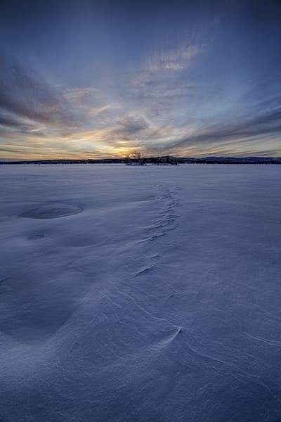 Lake Winnisquam Winter Sunset