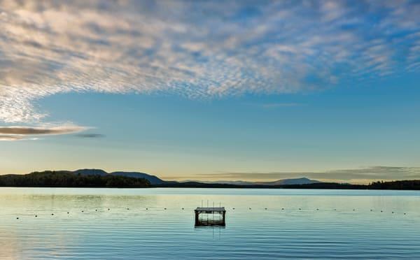Lake Umbagog and swimming platform