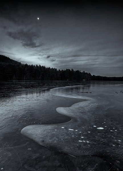 Hopkinton, NH Early winter Ice