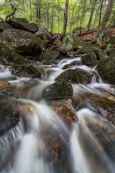 Small Rapids on Daniel Brook, on Mount Sunapee, New Hampshire
