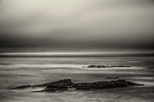 Hampton Beach Sepia Atlantic