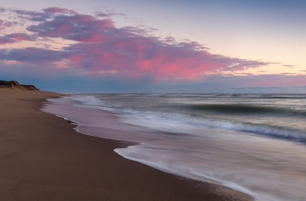 Pink Atlantic Dawn on Cape Cod
