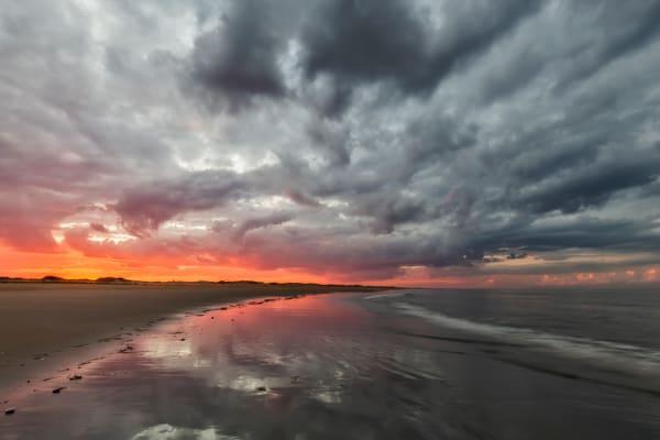 Plum Island Dramatic sunset
