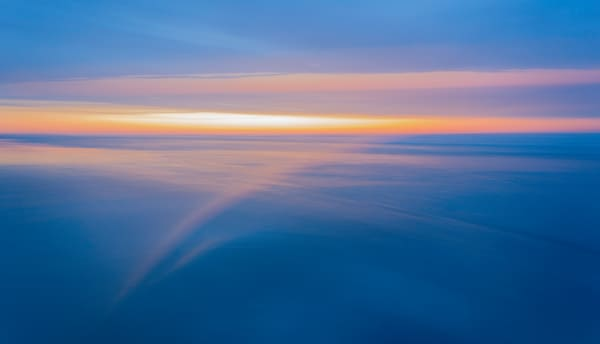 Atlantic Morning Blue and Gold