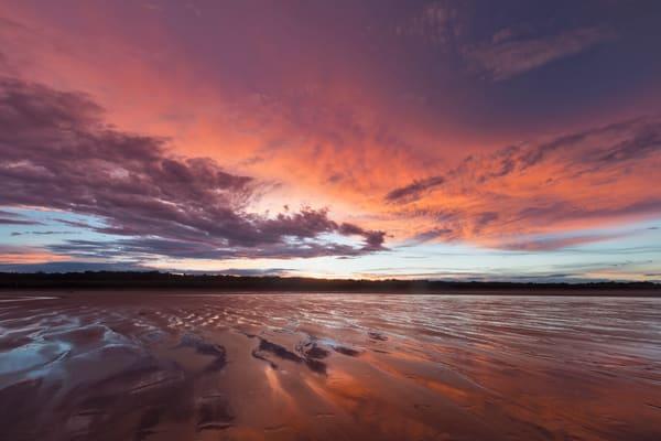 Ogunquit Beach at sunset