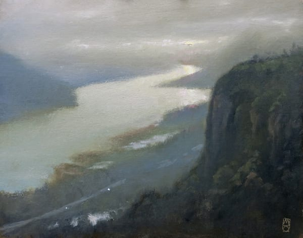 Gorge Plein Air, by Oregon Artist Michael Orwick