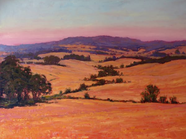 Yamhill Valley, landscape painting by Michael Orwick